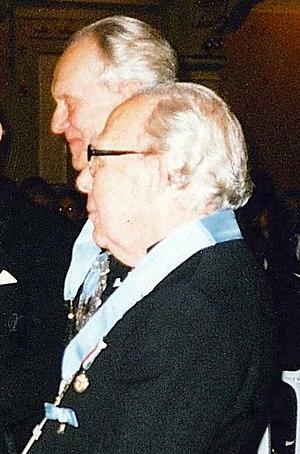 Per-Olov Ahrén - Per-Olov Ahrén (in front) in 1998.