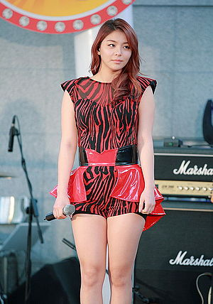 Ailee (South Korean singer) on Oct 11, 2013 (4).jpg