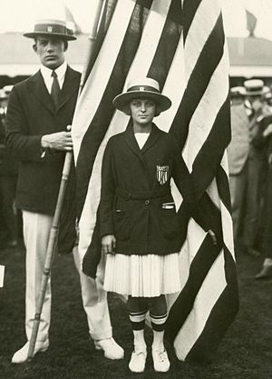 Aileen Riggin - Aileen Riggin at the 1920 Olympics