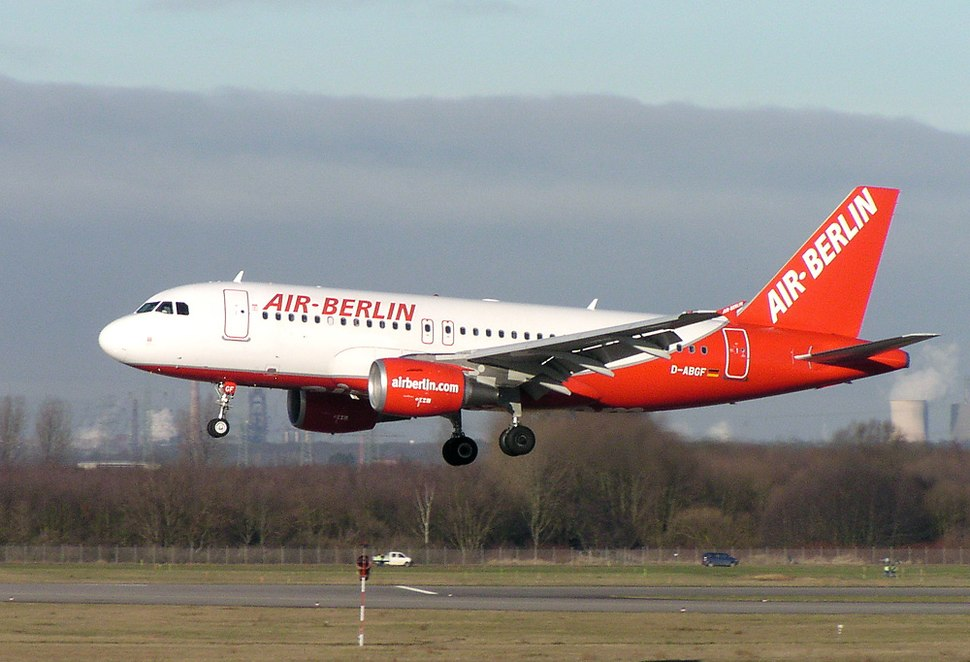 Air Berlin Airbus A319 D-ABGF DUS