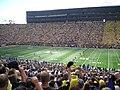 Air Force vs. Michigan football 2012 1 (opening kick-off).jpg