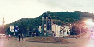 Akhalgori Town in Mtskheta-Mtianeti, Georgia
