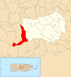 Location of Ala de la Piedra