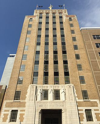 Alabama Power - Alabama Power's headquarters in Downtown Birmingham, Alabama