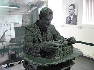 Alan Turing szobra és képe