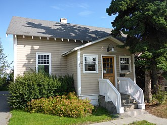 National Register of Historic Places listings in Anchorage, Alaska - Image: Alaska Engineering Cottage 25