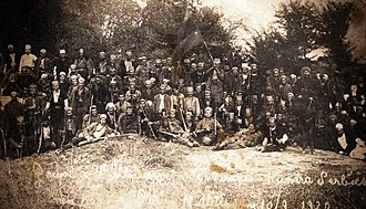 Qazim Mulleti - Albanian volunteers unit fighting against the Serbian army 1919-1920