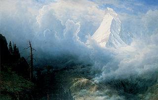 Storm on the Matterhorn