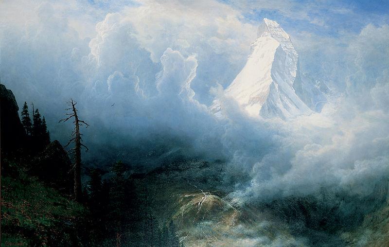 File:Albert Bierstadt - Storm on the Matterhorn.jpg
