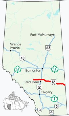 Alberta Highway 12 - Wikipedia