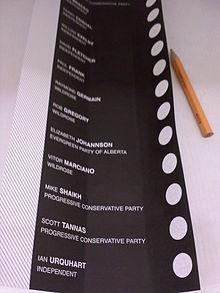 Alberta Senate Nominee Election 2012 Wikipedia