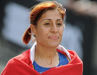 Alessandra Aguilar Spanish long-distance runner