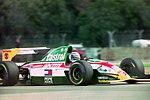 Alessandro Zanardi - Lotus 107 during practice for the 1993 British Grand Prix (32873601273).jpg