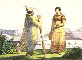 Aleut - Traditional Aleut dress