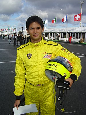 Alex Yoong - Yoong at an A1 Grand Prix series meeting