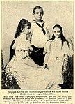 Alexandrine & Friedrich Franz IV & Cecilie von Mecklenburg-Schwerin, 1896 .jpg
