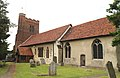 All Saints Church, Nazeing, Essex, England ~ tower from the southeast 02.JPG