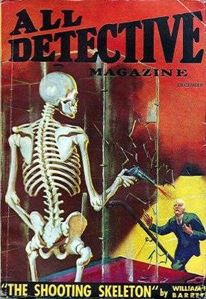 William Edmund Barrett - Barrett wrote many mystery stories for pulp magazines like All Detective