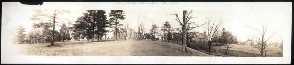 Allegheny College Meadville 1909 Pennsylvania Historic Campus