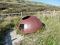 Allen-Williams turret near Worbarrow Bay - geograph.org.uk - 1632424.jpg