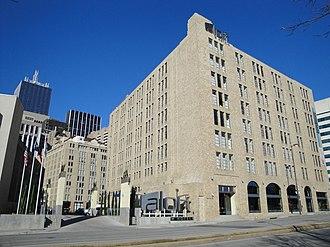 Santa Fe Terminal Complex - Image: Aloft Hotel Dallas