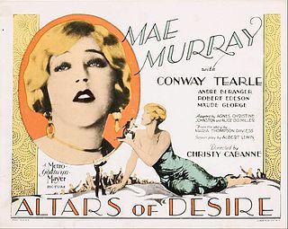 <i>Altars of Desire</i> 1927 film