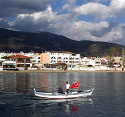 Altınoluk resort center near Edremit