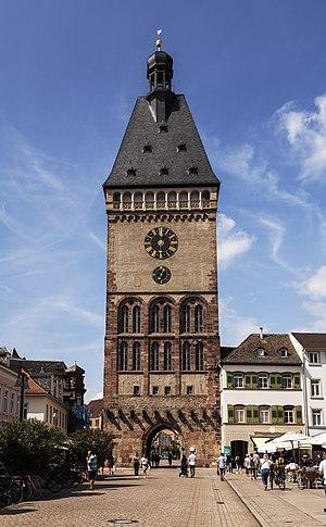 City gate in Speyer (Germany)