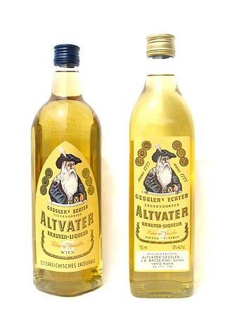 Liqueur - Image: Altvater Gessler