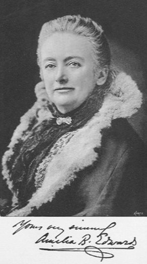 Amelia Edwards - Amelia B Edwards in 1890