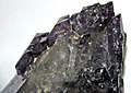 Amethyst on smoky quartz (Jefferson County, Montana, USA) 2 (32215389264).jpg