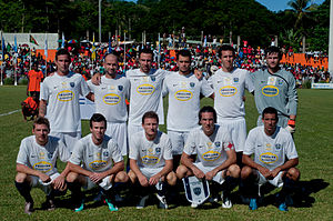 Auckland City FC - The Auckland City team in 2011