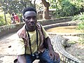 Amini Cishugi au Musée Vivant de Bujumbura.jpg