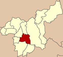 Lokalizacja w Prowincja Saraburi