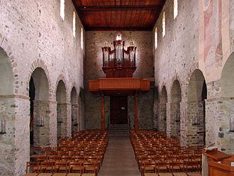 Amsoldingen - Interior of Amsoldingen Church