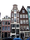 amsterdam lauriergracht 21 through 25 across