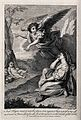 An angel rescues Hagar and Ishmael in the wilderness. Etchin Wellcome V0034230.jpg