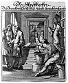 An apothecary is making up a prescription for waiting custom Wellcome L0006839.jpg