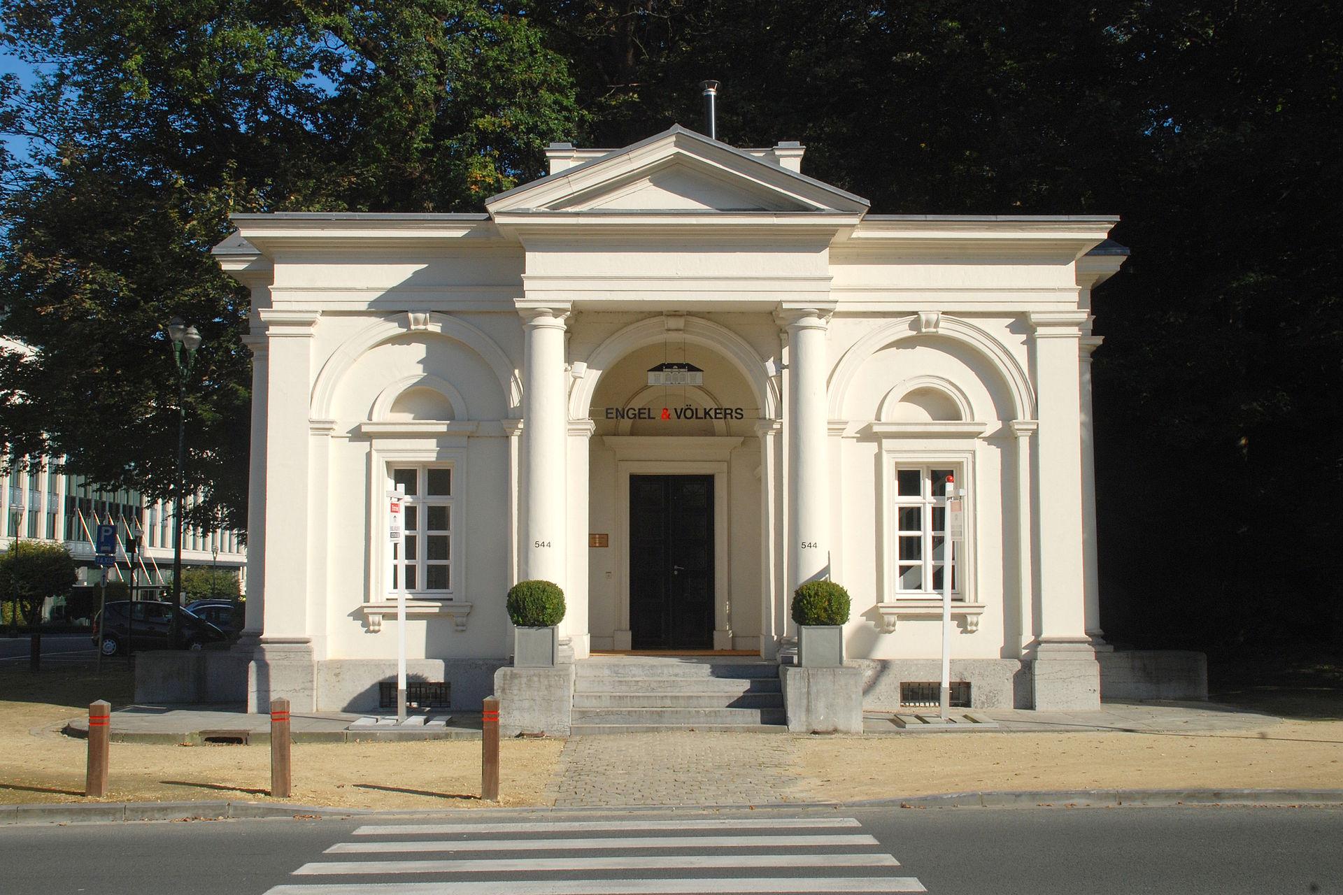 Anciens pavillons d 39 octroi de la porte de namur wikip dia for La porte and associates