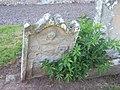 Ancient grave stone, Edrom churchyard - geograph.org.uk - 1426444.jpg