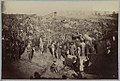 Andersonville Prison, Ga., August 17, 1864. Issuing rations, view from main gate LCCN2013645526.jpg