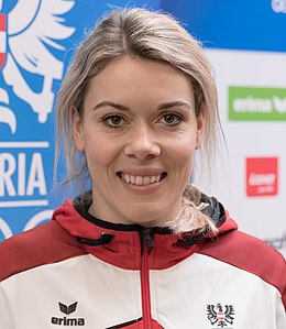Andrea Limbacher - Team Austria Winter Olympics 2018 (cropped).jpg