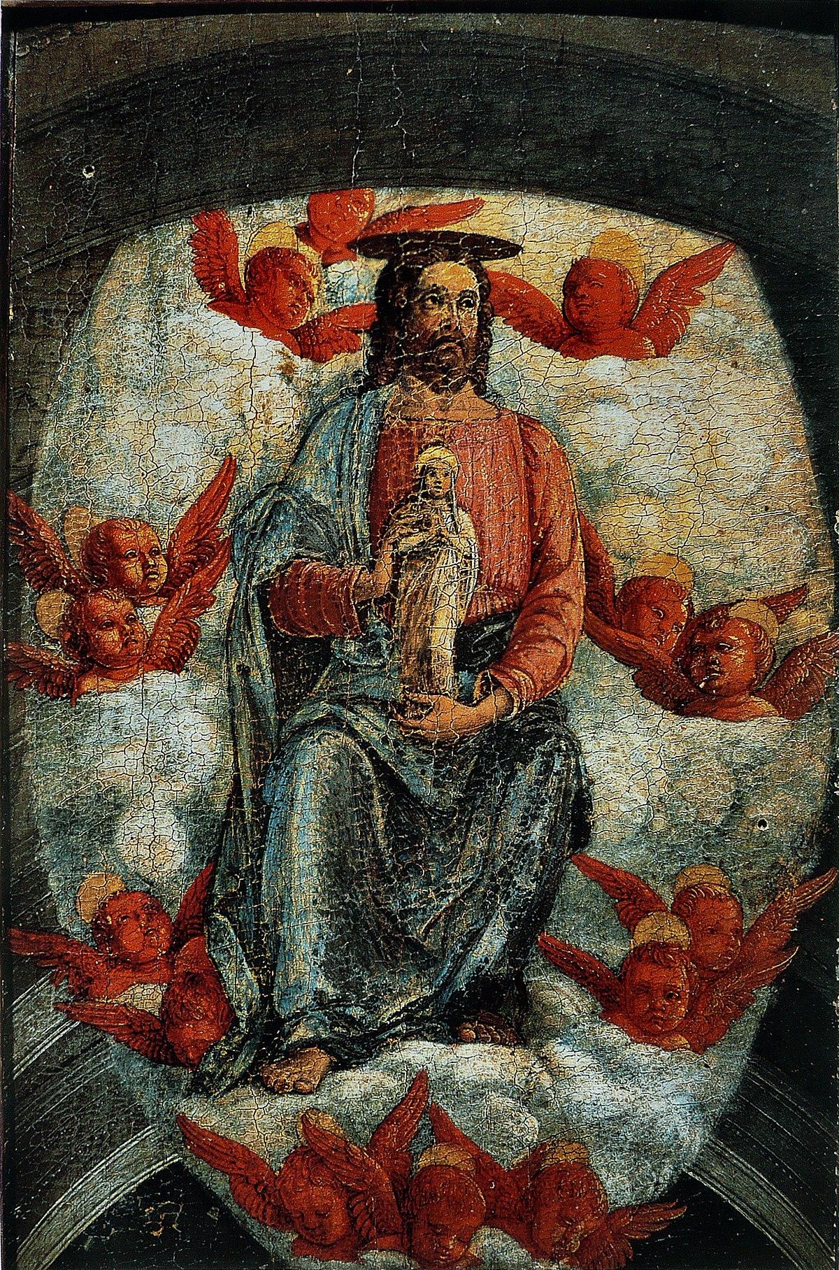 Art De L Ame Toulouse le christ avec l'âme de la vierge — wikipédia