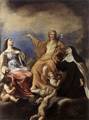 Andrea Sacchi - The Three Marys