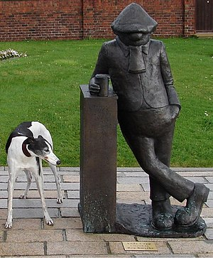 Andy Capp - Statue in Hartlepool, England