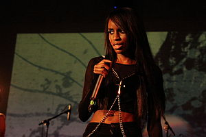 Angel Haze - Angel Haze performing in October 2012