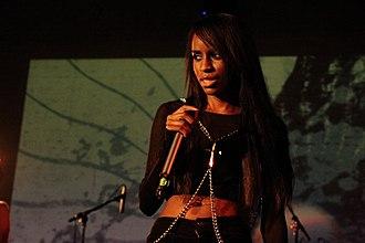 Angel Haze - Wilson performing in October 2012