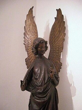 Musée des beaux-arts d'Arras - L'un des anges d'Humbert.