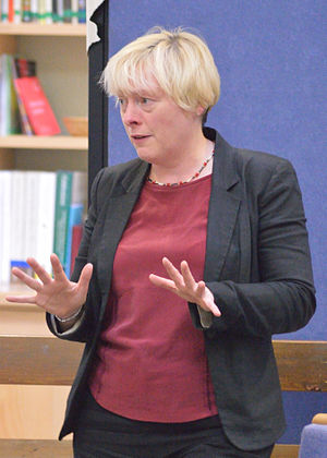 Angela Eagle - Speaking at a 2015 deputy leadership election meeting in Bath