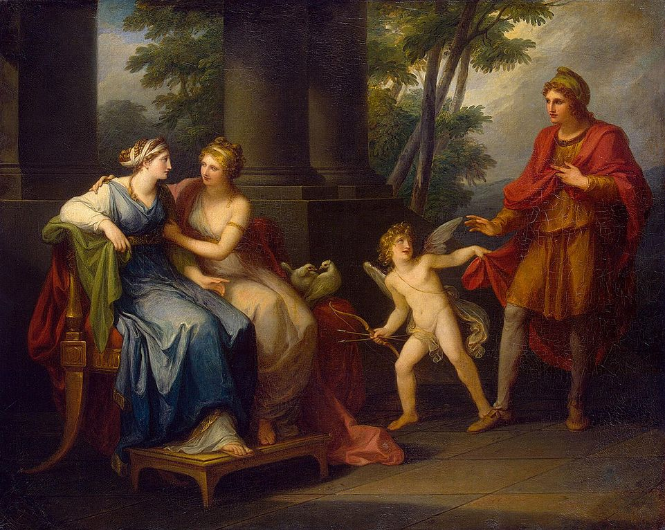 Angelica Kauffmann - Page 2 961px-Angelica_Kauffmann_-_Venus_Induces_Helen_to_Fall_in_Love_with_Paris_-_WGA12099
